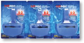 SUNDAY סבון כחול לניקוי האסלה 5 פעולות בהדחה אחת