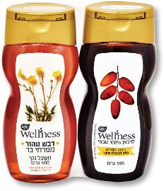 Life Wellness סילאן 100% טבעי 385 גרם + דבש טהור מפרחי בר 400 גרם