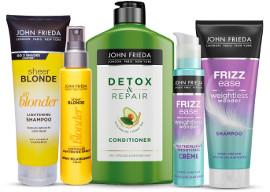 JOHN FRIEDA מגוון מוצרי טיפוח שיער