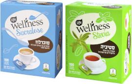 Life Wellness סטיביה ממתיק/ סוכרלוז