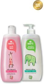 Life BABY'S סדרת טיפוח היפואלרגנית דרמטולוגית לתינוקות