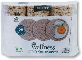 Life Wellness פריכיות אורז מלא למריחה