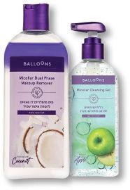 BALLOONS מים מיסלריים/גל/מוס