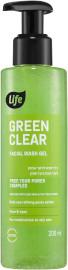 לייף GREEN CLEAR תרחיץ פנים לניקוי עמוק