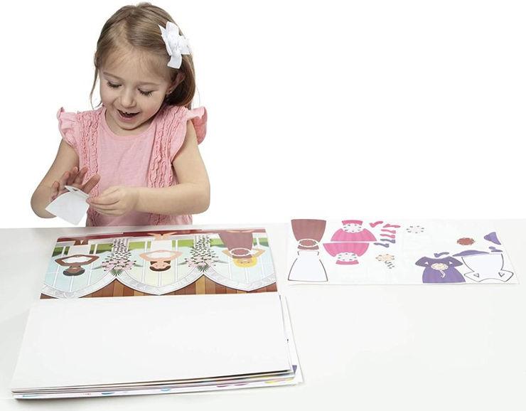 חוברת מדבקות עיצוב הבית