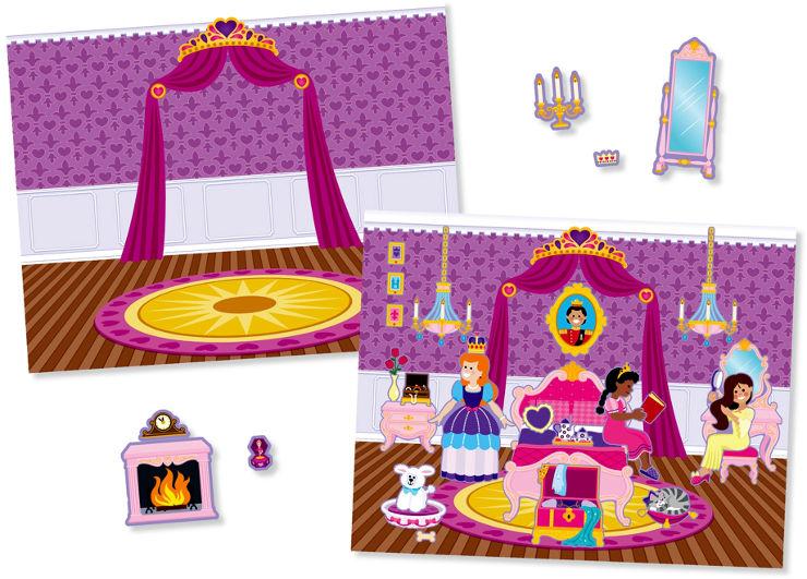 חוברת מדבקות ארמון נסיכות