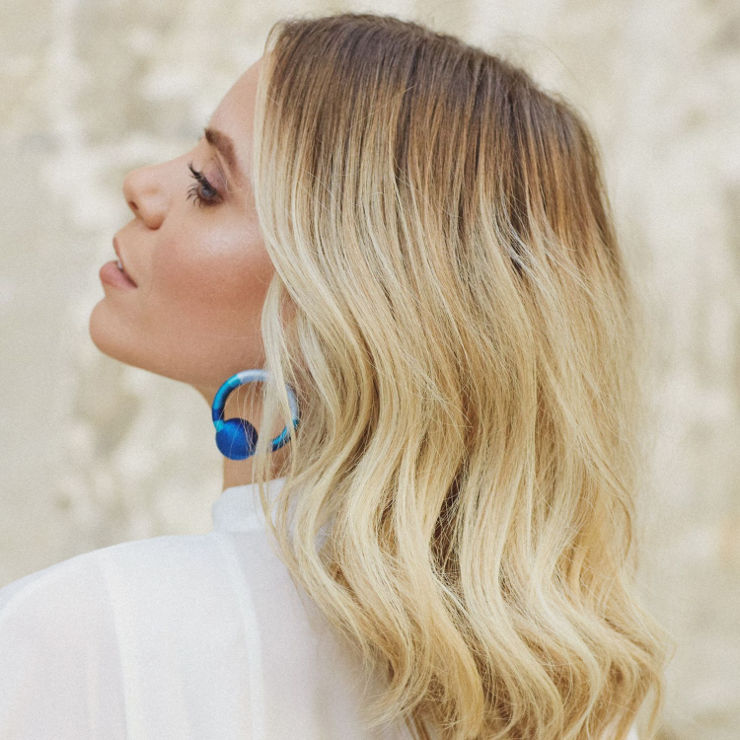 MUSE מברשת קרמית חשמלית לעיצוב השיער