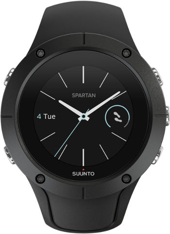 שעון כושר Spartan Trainer Wrist HR Black