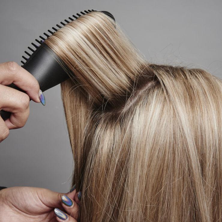 GO מברשת להחלקת שיער