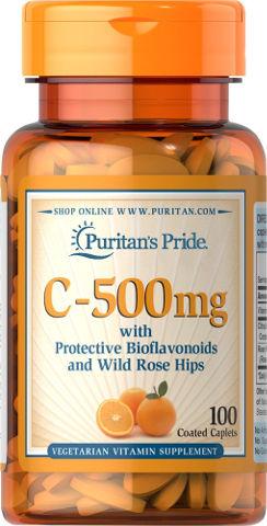 ויטמין C-500 מ