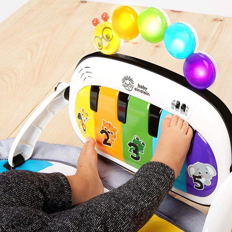משחקיית פעילות מוסיקלית פסנתר הקסם 4 ב-1
