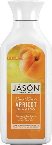 שמפו משמש טהור לשיער זוהר מכיל מרכיבים צמחיים ואורגניים