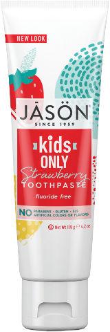 משחת שיניים טבעית תות לילדים