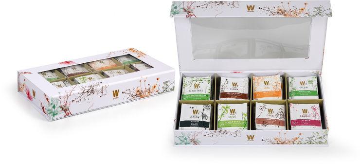 תיבת תה ריג'יד לבנה TEA DREAMS BOX