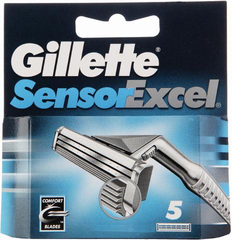 סנסור אקסל מחסנית סכיני גילוח רב פעמיים לגברים