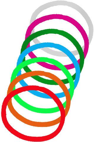 BaByliss גומיות דקיקות צבעוניות