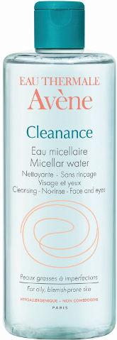 מים מיסלריים קליננס לעור שמן
