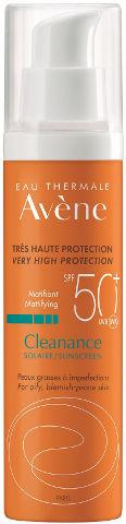 קליננס תחליב להגנה גבוהה +SPF50 לעור שמן
