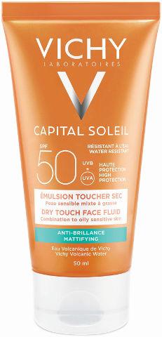 תחליב הגנה לפנים SPF+50 לעור מעורב עד שמן