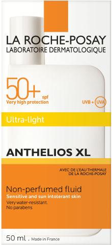 אנתליוס פלואיד להגנה מהשמש SPF50