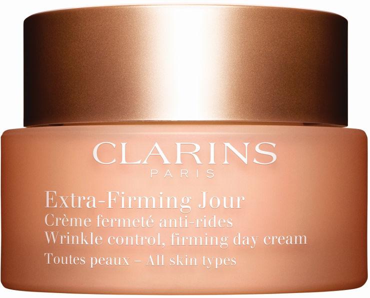 EXTRA FIRMING קרם יום לכל סוגי העור + דוגמית קרם לילה