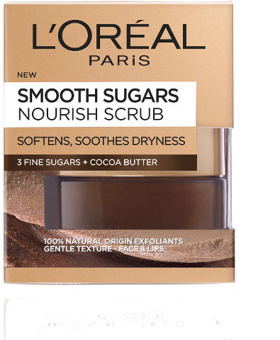 SMOOTH SUGARS SCRUBS גרגירי פילינג סוכר לאפקט הזנה