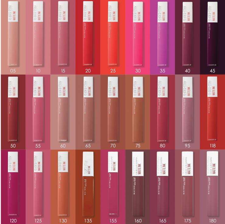 SUPER STAY MATTE INK שפתון נוזלי 55
