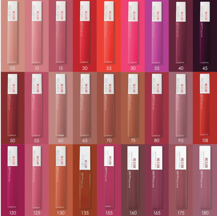 SUPER STAY MATTE INK  שפתון עמיד גוון 80 גוון RULER