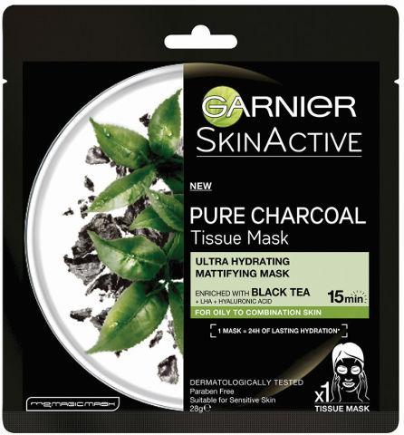 PURE CHARCOAL מסכת פחם תה
