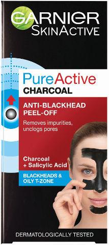 PURE ACTIVE CHARCOAL מסכת פחם לטיהור העור