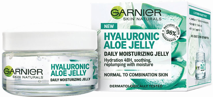 HYALURONIC ALOE JELLY ג'ל אלוורה ללחות מרעננת