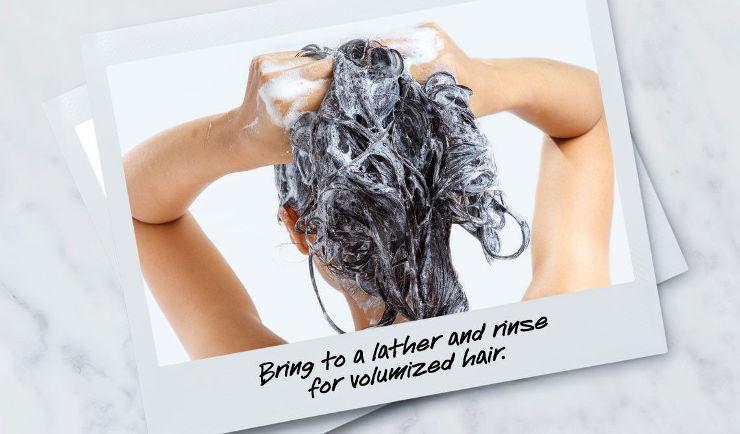 RICE & WHEAT שמפו להענקת נפח לשיער