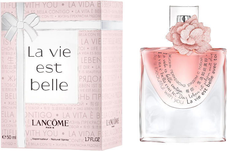 La vie est belle א.ד.פ מהודרה מיוחדת לאשה