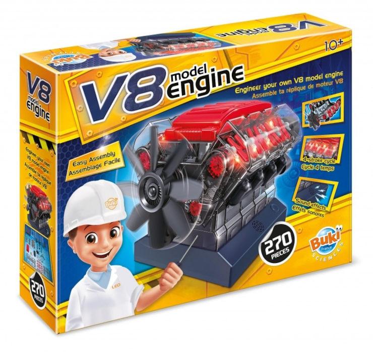 מנוע מוטור 8V