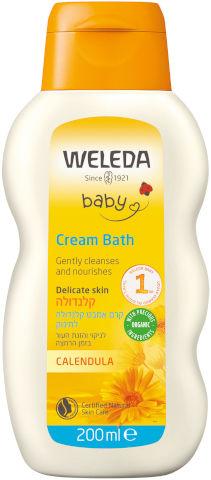 קרם אמבט קלנדולה לתינוק