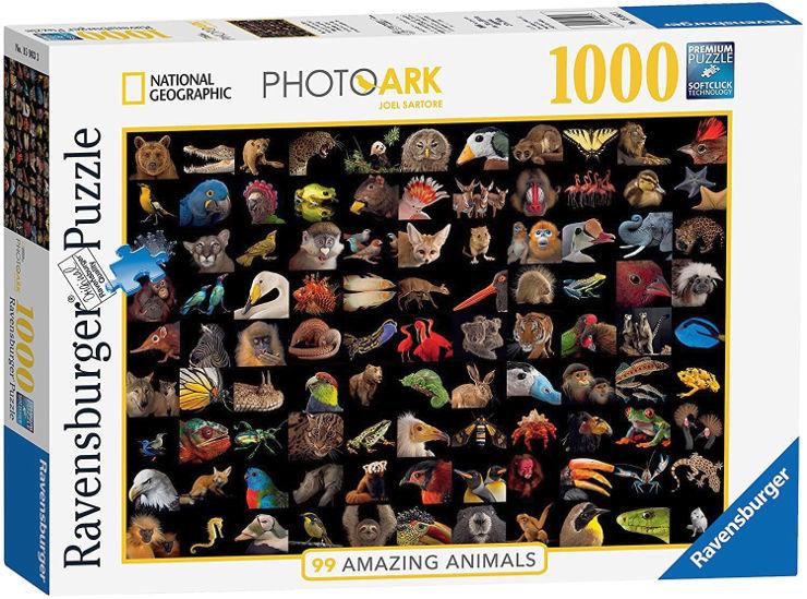 פאזל מגוון חיות 15983