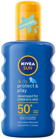 SUN קידס תרסיס הגנה לילדים 50 SPF