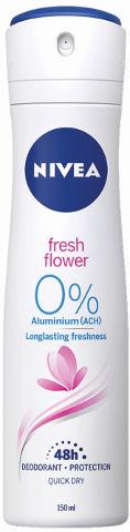דאודורנט ספריי לאשה FRESH FLOWER אלומיניום 0%