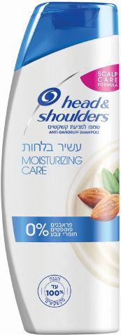 שמפו יומיומי למניעת קשקשים עשיר בלחות לשיער יבש