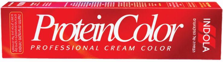 פרוטאין קולור קרם צבע לשיער אגוז ברזיל 6.4