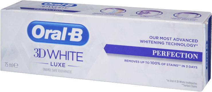 3D White - משחת שיניים להלבנה מושלמת