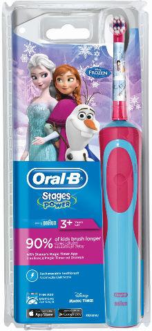 בראון מברשת שיניים חשמלית לילדים-פרוזן