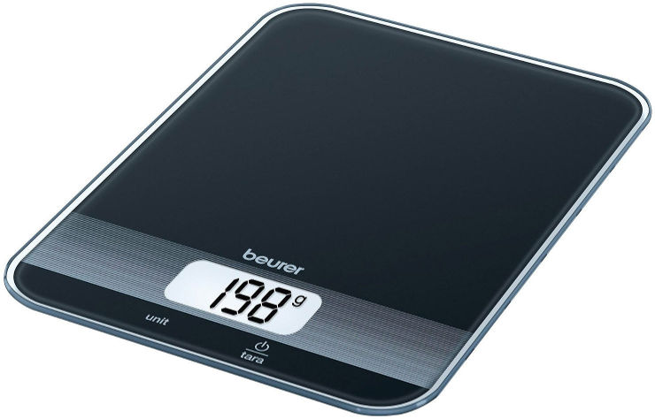 משקל מטבח מעוצב - שחור
