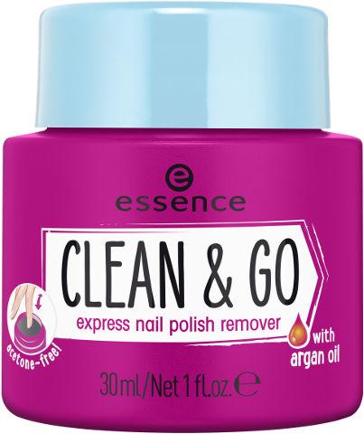 CLEAN& 2 GO מסיר לק