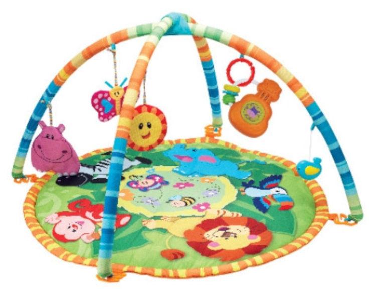 משטח משחק ולמידה לתינוק ג'ונגל