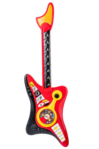 גיטרה אלקטרונית מיקי מאוס + מיקרופון מדונה-דיסני