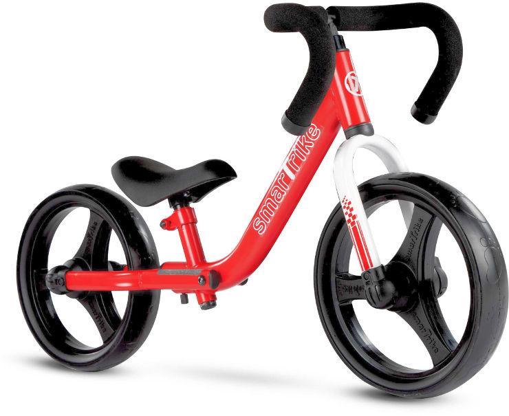 אופני איזון מתקפלים אדום