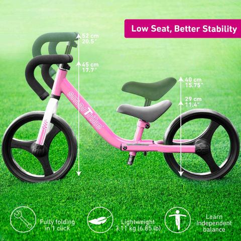 אופני איזון מתקפלים ורוד