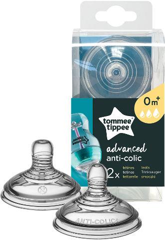 אנטי קוליק פטמה לבקבוק לזרימה משתנה +0