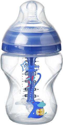 בקבוק אנטי קוליק לתינוק +0 צבע כחול